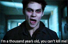I think Stiles should just scream all the time in season 4 cause, it's hawt so....yeah!!!
