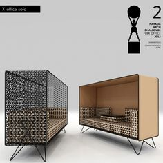 Bureau modulable pour confidences tranquilles X Collection pour office par MILODAMALO