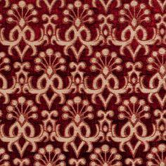 Anichini Fabrics - ABAZA Red Reverse