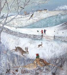 Fantasy art animals Wolves is part of Best Fantasy Wolves Images Fantasy Art Fantasy Artwork - Landscapes & Wildlife Portfolio Lucy Grossmith Heart To Art Art And Illustration, Wild Life, Winter Szenen, Photo Images, Art Gallery, Snow Scenes, Naive Art, Winter Landscape, Whimsical Art
