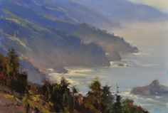 BIG SUR by Jesse Powell, 8x12 inches, Private Collection