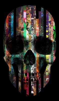 ☆ Skull Stripes Colors.。Art By :→: RUSS ☆