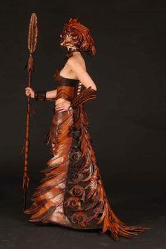 World of Wearable Art, Wellington, New Zealand - section winner 2008,  Ornitho…