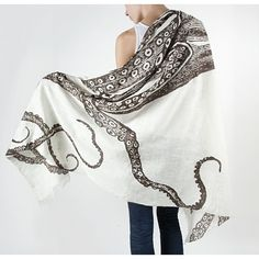 In The Style Of: Kooky Grandma  http://www.designpublic.com/thomas-paul-shawl-octopus