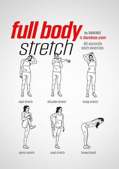 Get Helpful Tips About Daily Workout That Are Simple To Understand - Fitness Inspiration Stretches Before Workout, Easy Stretches, Stretching Exercises, Full Body Stretching Routine, Warm Up Stretches, Morning Stretches, Warm Up Exercise Stretching, Ankle Strengthening Exercises, Stretch Routine