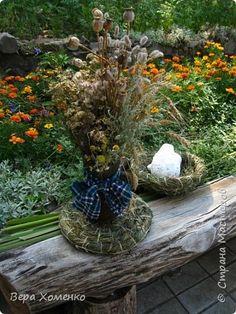 Тарелка ,подставка из травы.…