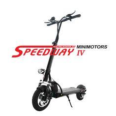 Мини Moto RS Speedway IV 4 два Колёса 10 дюймов складной Электрические скутеры скейтборд 52 В 26AH 600 Вт Moto 60 км /ч диапазон 110 км