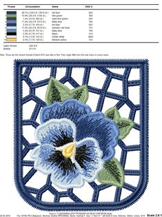Machine Embroidery Design Lace Decorative Pocket – Birochka Embroidery