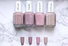 Start Afresh With These New 2019 Spring Nail Colors Pretty Nail Colors, Spring Nail Colors, Spring Nails, Trendy Nails, Cute Nails, Essie Nail Polish Colors, Nail Trends, All Things Beauty, Nails Inspiration