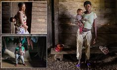 Heart-wrenching photos document the plight of teen mothers in Africa