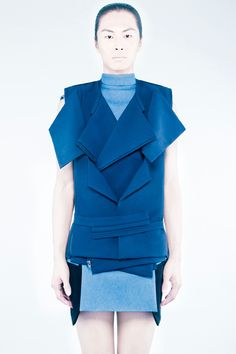 Rad Hourani Spring/Summer 2012 Unisex Collection #8