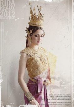 Miss Universe Thailand 2012 Ethnic Costume