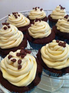 Blueberry Choco-crunch #cupcake