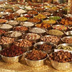 Hindu Wedding Food | An Indian Wedding Feast, Akanksha & Anant's Wedding - Real Wedding
