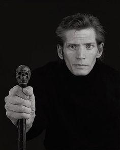 Collection Online | Robert Mapplethorpe. Self Portrait. 1988 - Guggenheim Museum