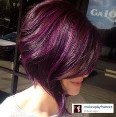 I'm thinking I want purple again!!!!!