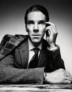 Benedict Cumberbatch By Platon For GQ January 2014