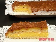 Tarta sueca de almendra