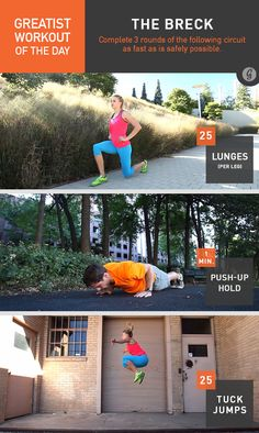 Greatist Workout of the Day: Wednesday, November 18th #fitness #bodyweight #workout