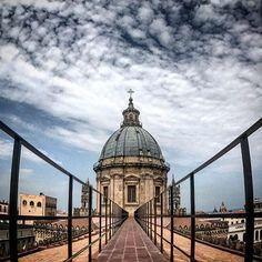 Siete mai stati sui tetti della #Cattedrale? #Palermo #visitsicilyinfo #palermo18 #palermowelcome  ph Masinoserrago  visitsicily.info/10cosea/palerm…