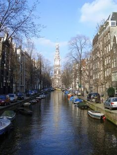 Amsterdam Canals #travel #amsterdam #netherlands