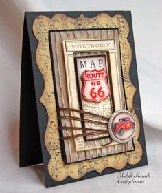 """A """"Manly"""" Card Crafty Secret's Style! by chelemom - Cards and Paper Crafts at Splitcoaststampers"""