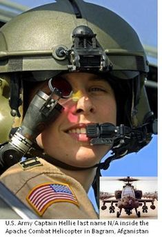Female Army Pilot | HEY! Support our troops with a care package while they are away from home....recall blackhawk pilot. Kathy B..