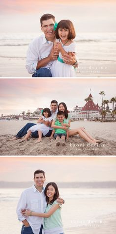 Coronado Beach Family Photography