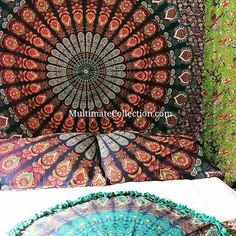 This can be used as Bedspreads, throws, hangings in Beach and Rooms. This Mandala will spread love and Peace. The Beauitiful Awakening Piece will spread Love and peace, will refresh the place and uplift the positivity in the air  The Multipurpose Mandala sheet is Big and Beautiful