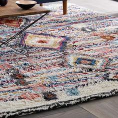 Charm Wool Rug #westelm www.shelleysassdesigns.com