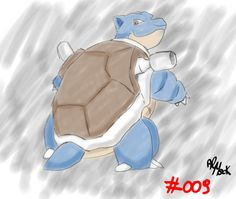 http://nerdrecensioni.altervista.org/category/pokerubrica/  #pokemon #fast drawing #drawing #fanart #blastoise #sketch #doodle #mypaint