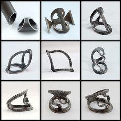 Saddle ring in progress by Blind Spot Jewellery, via Flickr