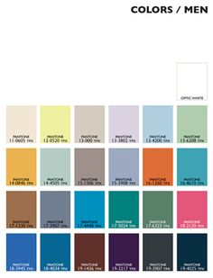 Lenzing Color Trends Spring/Summer 2015 | Posted By Senay GOKCEN, Editor-in-Chief | Fashion Trendsetter