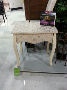 Side Table Home Goods Apartment Living And Garden