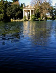 a Villa Borghese...