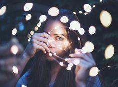 lights, beautiful, and bokeh image