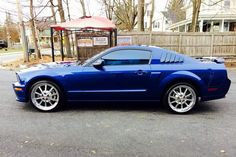 Mike and Fran Trifono's  2008 Ford Mustang GT/CS