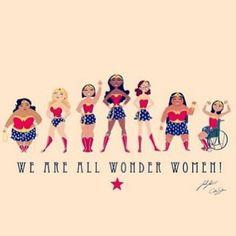 We are all wonder women!