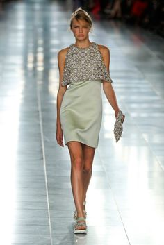 Christopher Kane The shoes seem off, pretty but off?