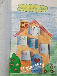Schede di Italiano per la classe prima Learning Italian, Literacy, Back To School, Activities For Kids, Crafts, Interactive Activities, Literacy Activities, Read Box, Simple Words