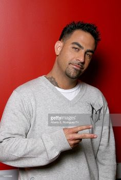 Television personality Christopher Nunez of the reality show 'Miami Ink' poses for a portrait at TV Guide Channel Studios on June 15, 2007 in Hollywood, California.