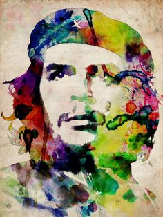 Have some similar Che art in my loft right now. I love Che in his early days.