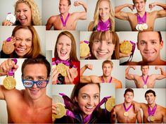 Love these people! #heroes #swimmer