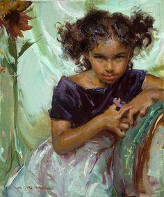 Daniel+F.+Gerhartz+-+Tutt%27Art%40+%2853%29.jpg 582×700 pixels Russian Painting, Russian Art, Amazing Art, Painting For Kids, Figure Painting, Art For Kids, Children Painting, American Academy Of Art, American Artists