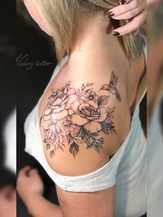 Tattoos for women – Tattoos And Cover Up Tattoos For Women Shoulder, Best Tattoos For Women, Sleeve Tattoos For Women, Family Tattoos, Couple Tattoos, Floral Tattoo Design, Tattoo Designs, Tattoo Ideas, Breastfeeding Tattoo