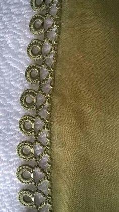 Tigli in-the-writing-braided - CLEA Diy Crochet Tutu Dress, Crochet Headband Pattern, Crochet Lace Edging, Crochet Borders, Love Crochet, Crochet Doilies, Saree Tassels Designs, Saree Kuchu Designs, Crochet Bobble Blanket