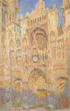 Rouen Cathedral in the Evening, by Monet Claude, 19th Century, 1894, oil on canvas, cm 100 x 65