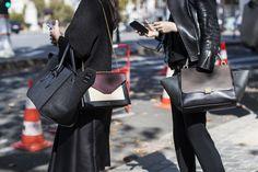 Paris Fashionweek ss2015 day 5, outside Céline, details