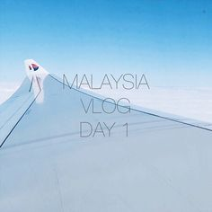 We have uploaded our first vlog! It's Day 1 of our trip to Malaysia and it consists of lots of travel some surprisingly good plane food and 24 hour Indian food on arrival. Link is in the bio!