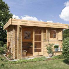 Abri de jardin en bois Panama - CASTORAMA | jardin | Pinterest ...